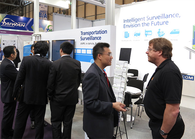 NEXCOM Surprises IFSEC Visitors with Mobile Security Surveillance Offerings