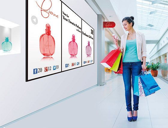 Connected Digital Signage Delivers Seamless Retail