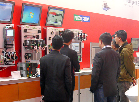 NEXCOM PC-based Factory Automation Realizes Factory of Things