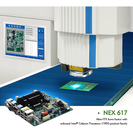 Industrial Motherboard NEX 617 Makes Intelligence Accessible, Pushing Innovation Forwards