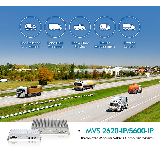 IP65-Rated Modular Vehicle Computer Systems Quickly Adapt to Specialized Trucks